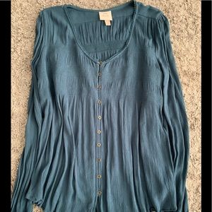 NWOT Knox Rose blouse